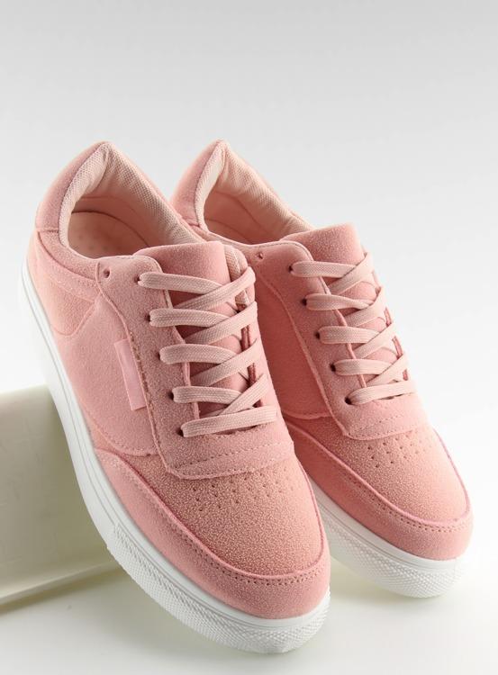 Trampki damskie zamszowe różowe NB172 PINK