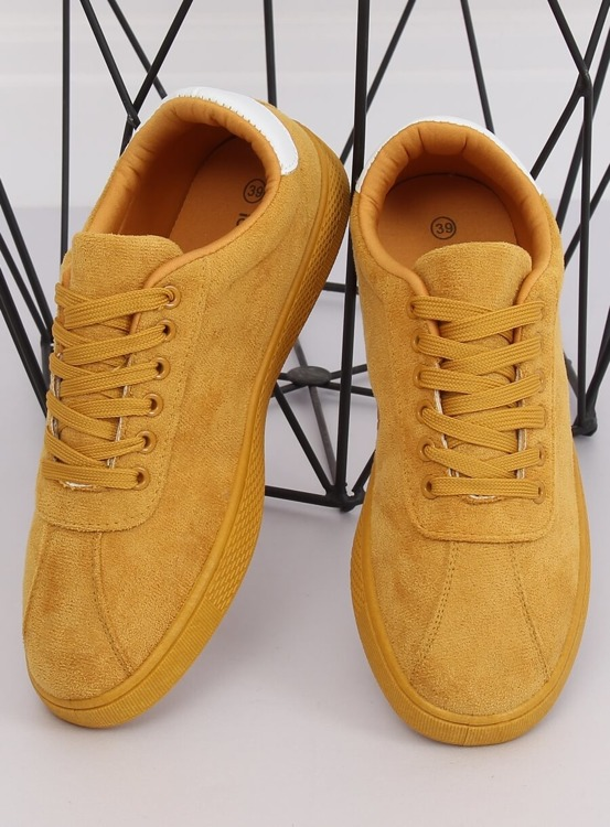 Trampki damskie żółte LX-9857 YELLOW