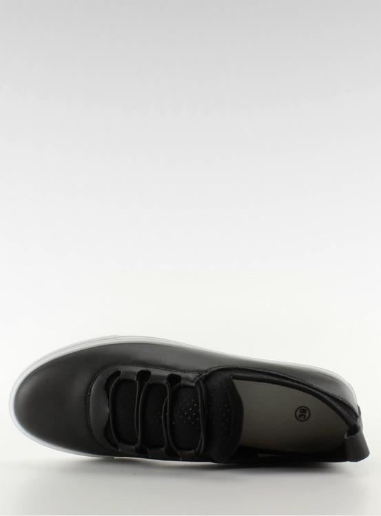 Trampki mięciutkie z gumkami 8-10 Black