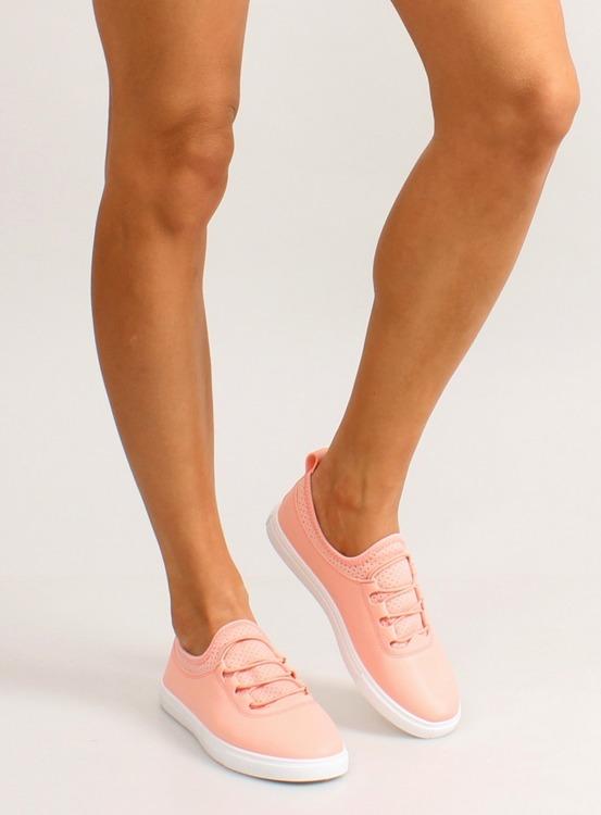 Trampki mięciutkie z gumkami 8-10 Pink