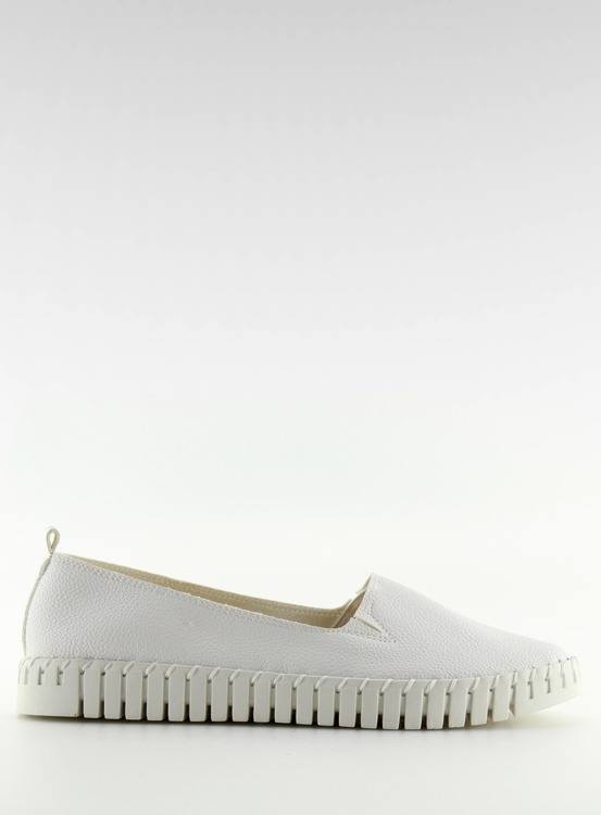 Trampki slip-on super wygodne białe 4163 WHITE