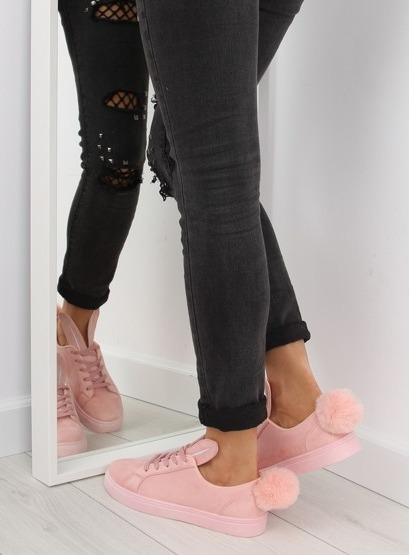 Trampki z uszkami różowe 6179 PINK