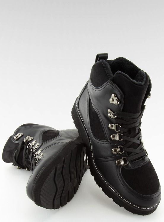 Traperki damskie czarne 769-PA BLACK
