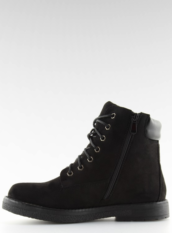 Traperki damskie czarne HQ896 BLACK