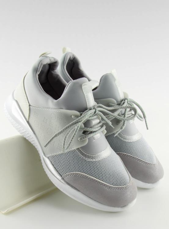 Ultra lekkie buty sportowe szare BY-069 GREY