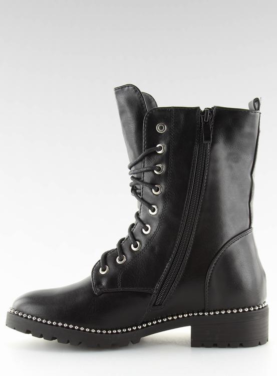 Workery botki damskie czarne NC238 BLACK