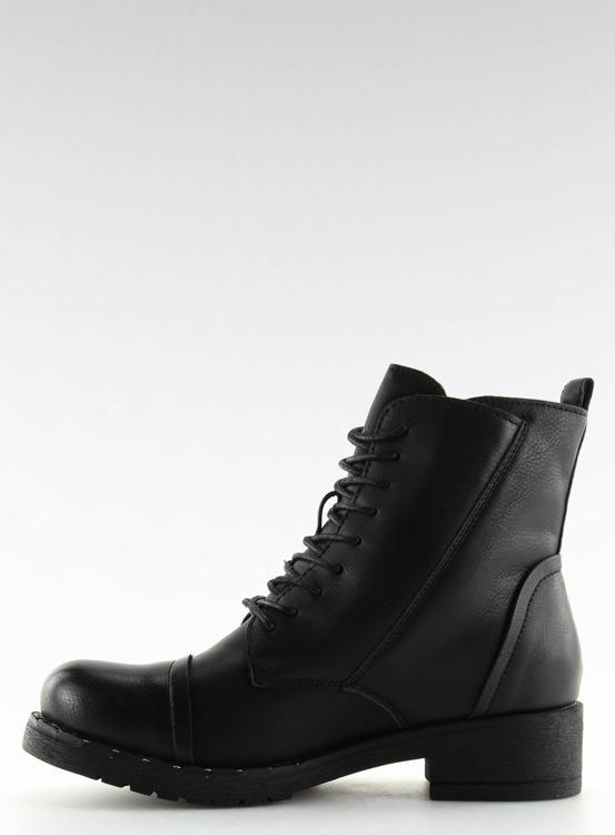 Workery z ćwiekami czarne 88060 BLACK