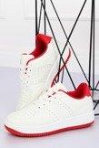 Buty sportowe biało-czerwone LV75P RED