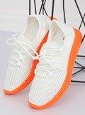 Buty sportowe biało-pomarańczowe NB283P-ST WHITE/ORANGE