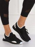 Buty sportowe czarne B-6851 BLACK