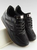 Buty sportowe czarne KB-091 BLACK