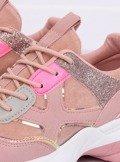 Buty sportowe różowe HL-12 PINK