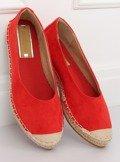 Espadryle baleriny czerwone N-2980 RED
