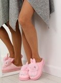 Kapcie damskie króliczki różowe MA01 PINK