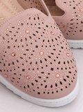 Lordsy ażurowe różowe ZA05P PINK