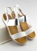 Sandałki damskie białe SL88P WHITE