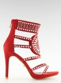 Sandałki gladiatorki czerwone GH-2776 RED
