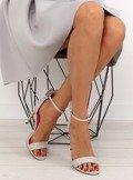 Sandałki na szpilce Mickey 1900 GRIS