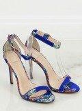 Sandałki orientalne granatowe KSL708 BLUE