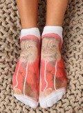 Skarpetki damskie z printem sk-a7006 MULTI-19