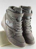 Sneakersy damskie szare 1542 GREY