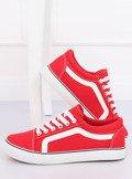 Trampki damskie czerwone BL117P RED