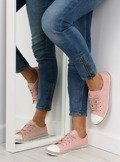 Trampki damskie różowe BM1950 PINK