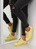 Trampki damskie żółte 7209 YELLOW