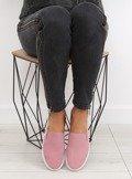 Trampki slipony różowe XL07P PINK