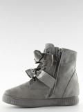 Trampki sneakersy szare A-79 GREY