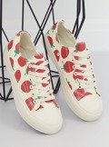 Trampki strawberry beżowe XL-21 BEIGE
