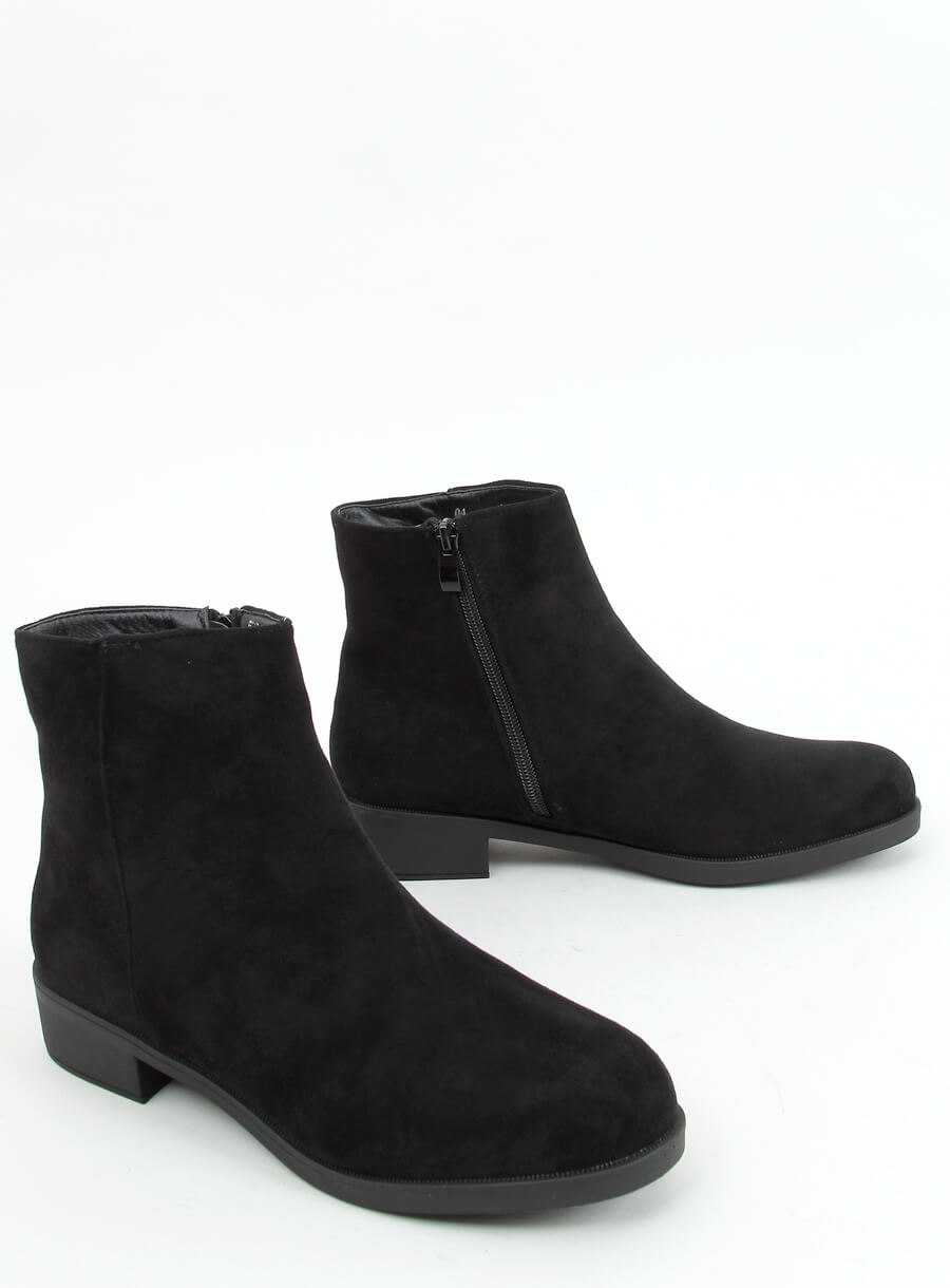 Klasické dámske čižmičky čierne