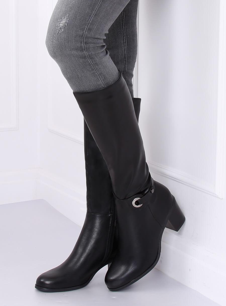 Klasické čižmy čierne