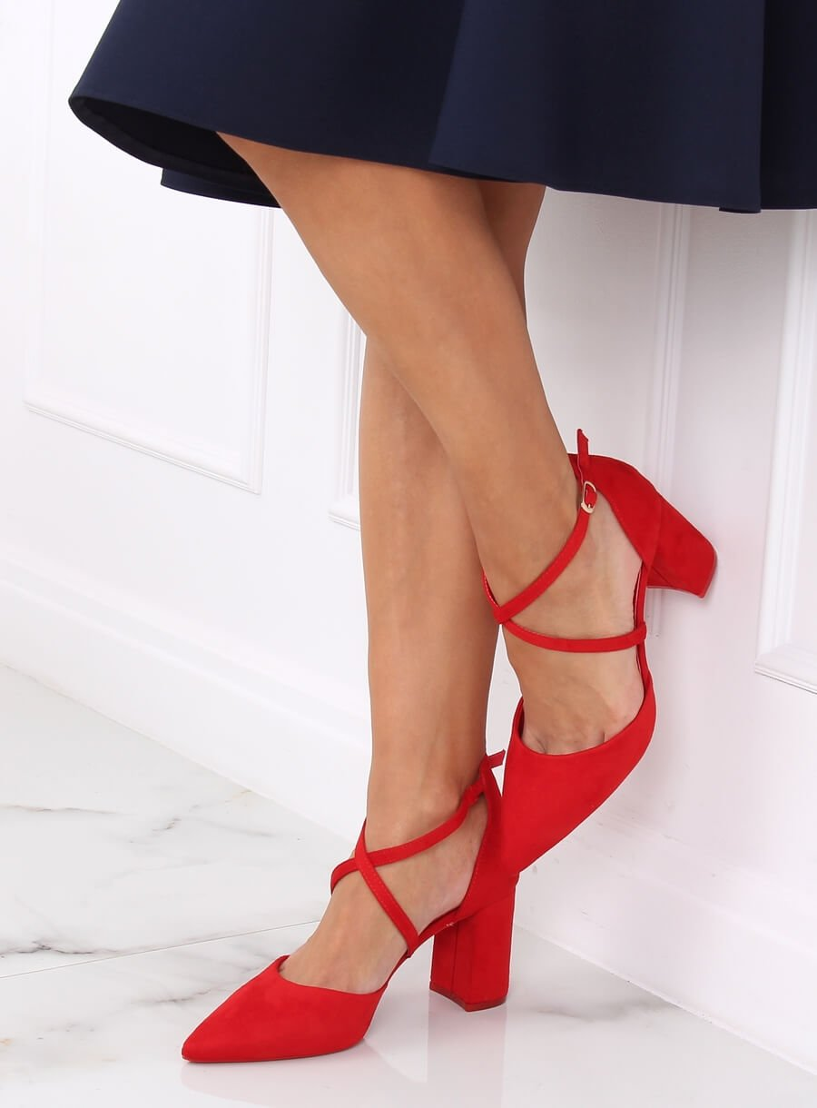 Topánky červené