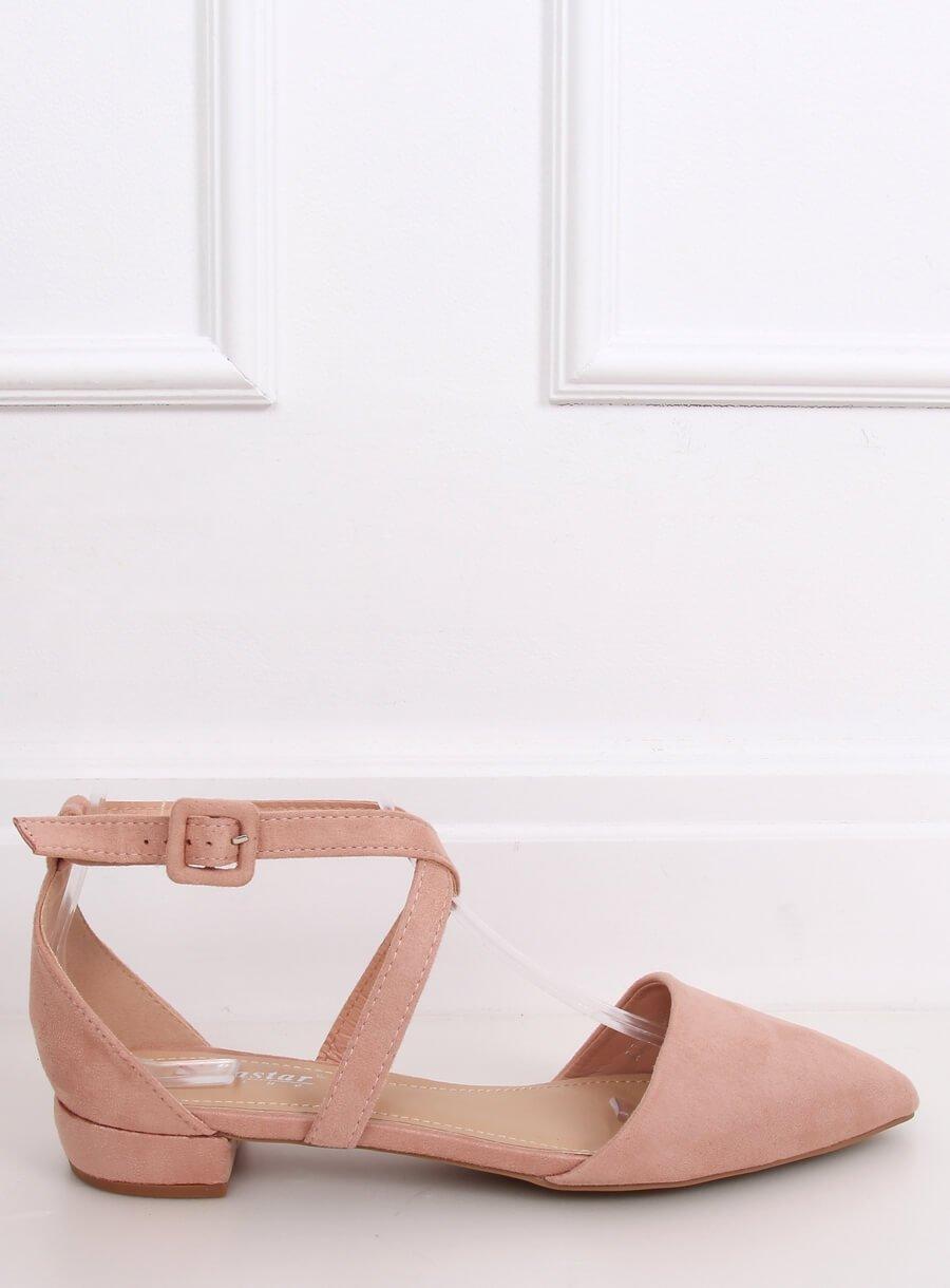 Dámské baleríny ružové