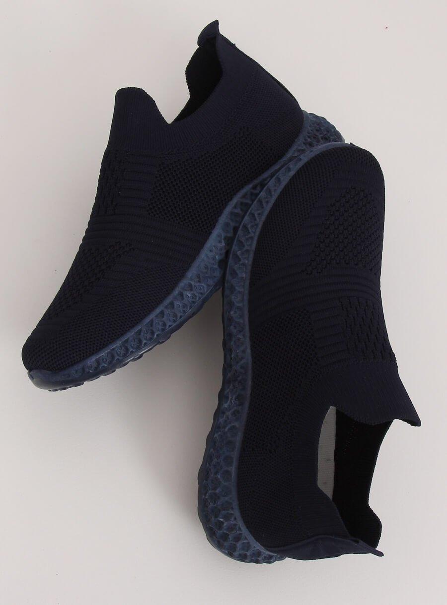 Tmavo modrá športová obuv