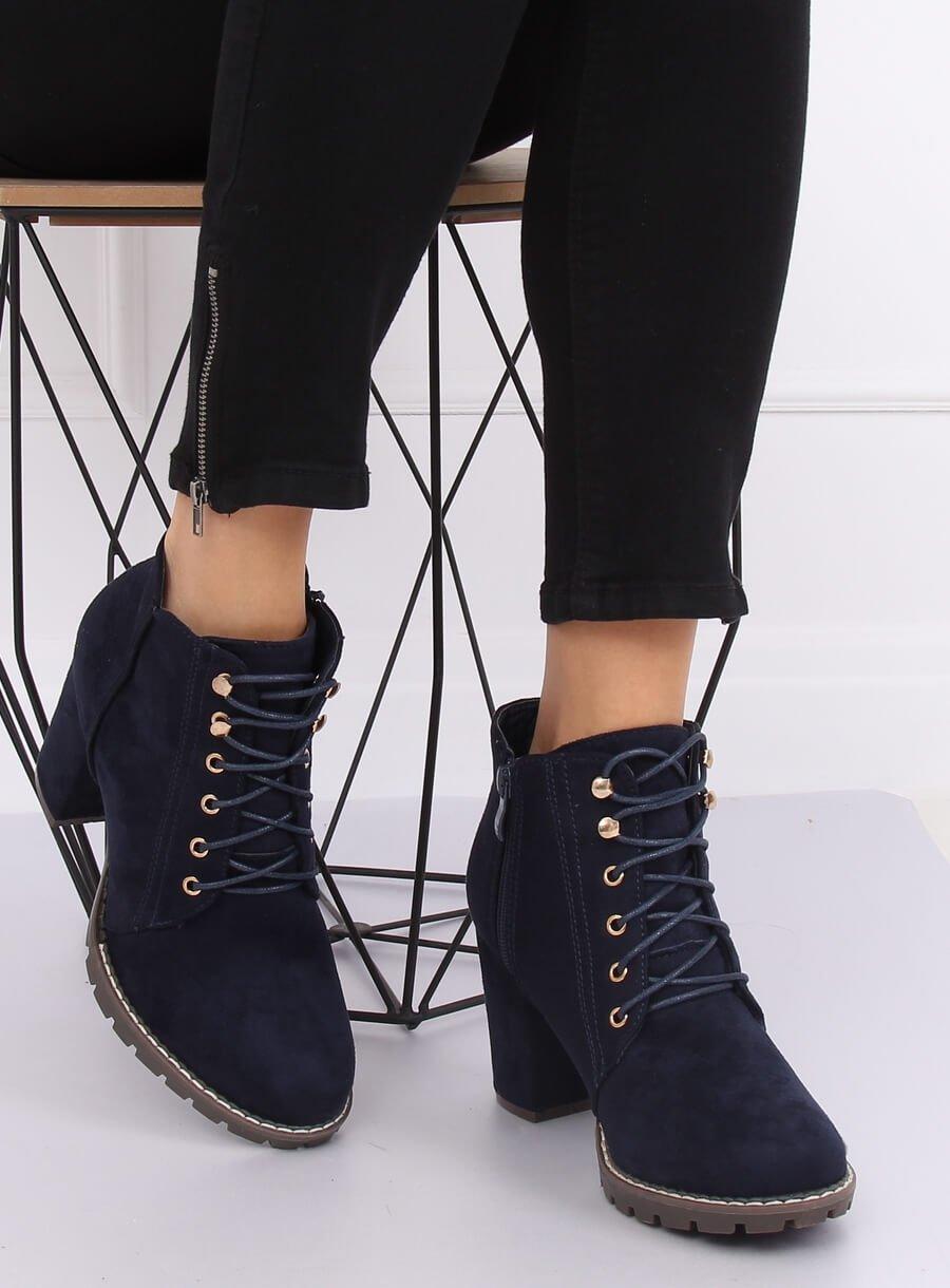 Šnurovacie topánky modré