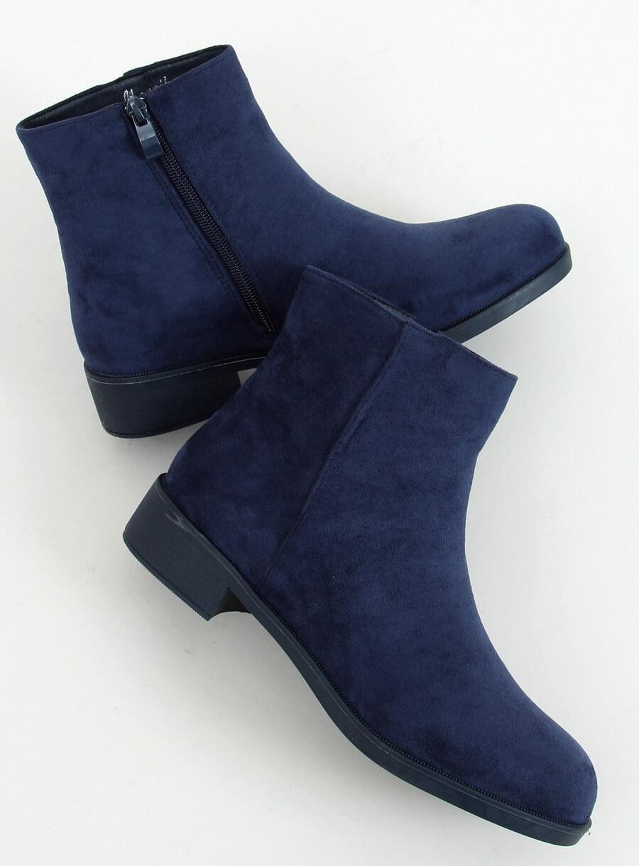 Klasické dámske čižmičky námornícka modrá