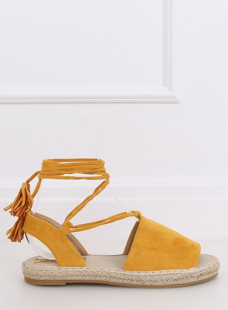 Espedryli/sandále žlté
