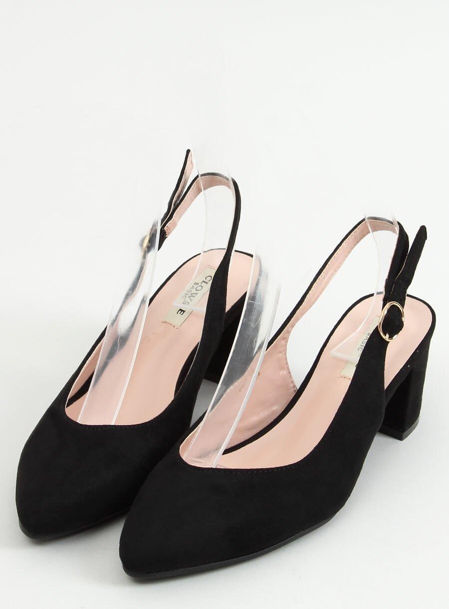 Sandále čierne