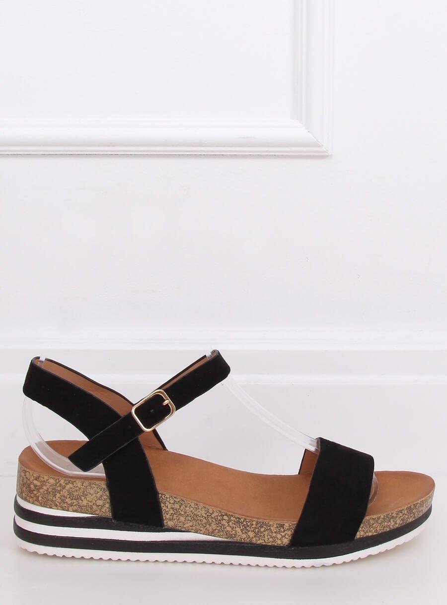 Dámské sandále čierne