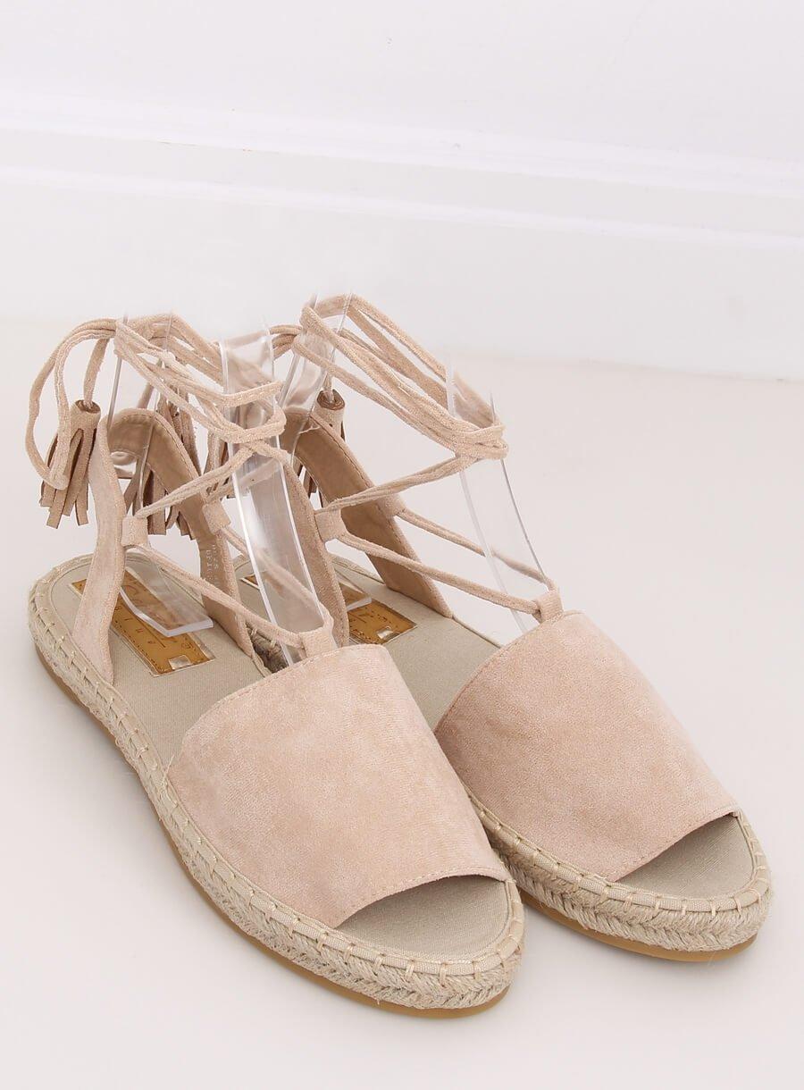 Espedryli/ sandále béžové