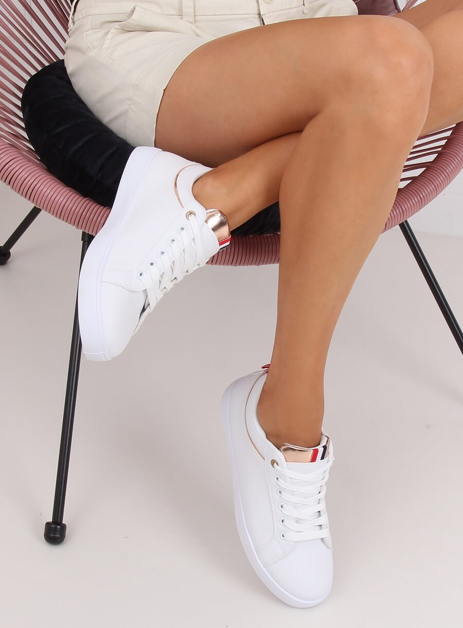 Biele dámské tenisky