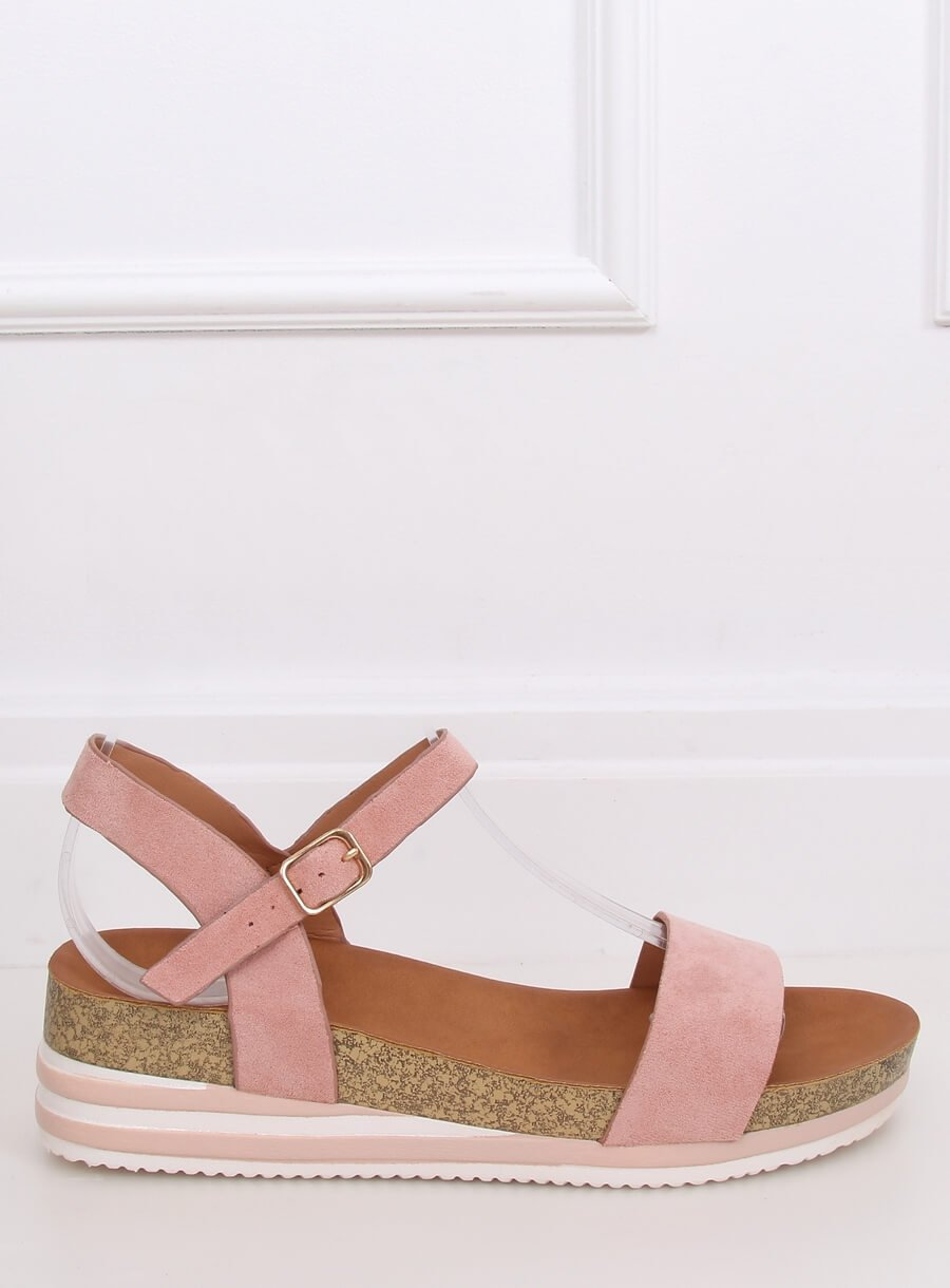 Dámske sandále ružové