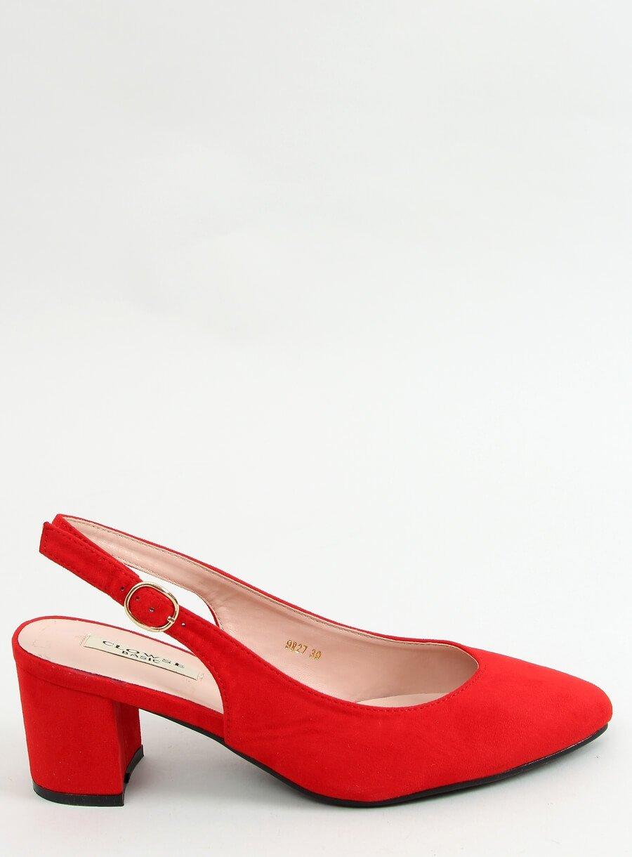 Sandále červené