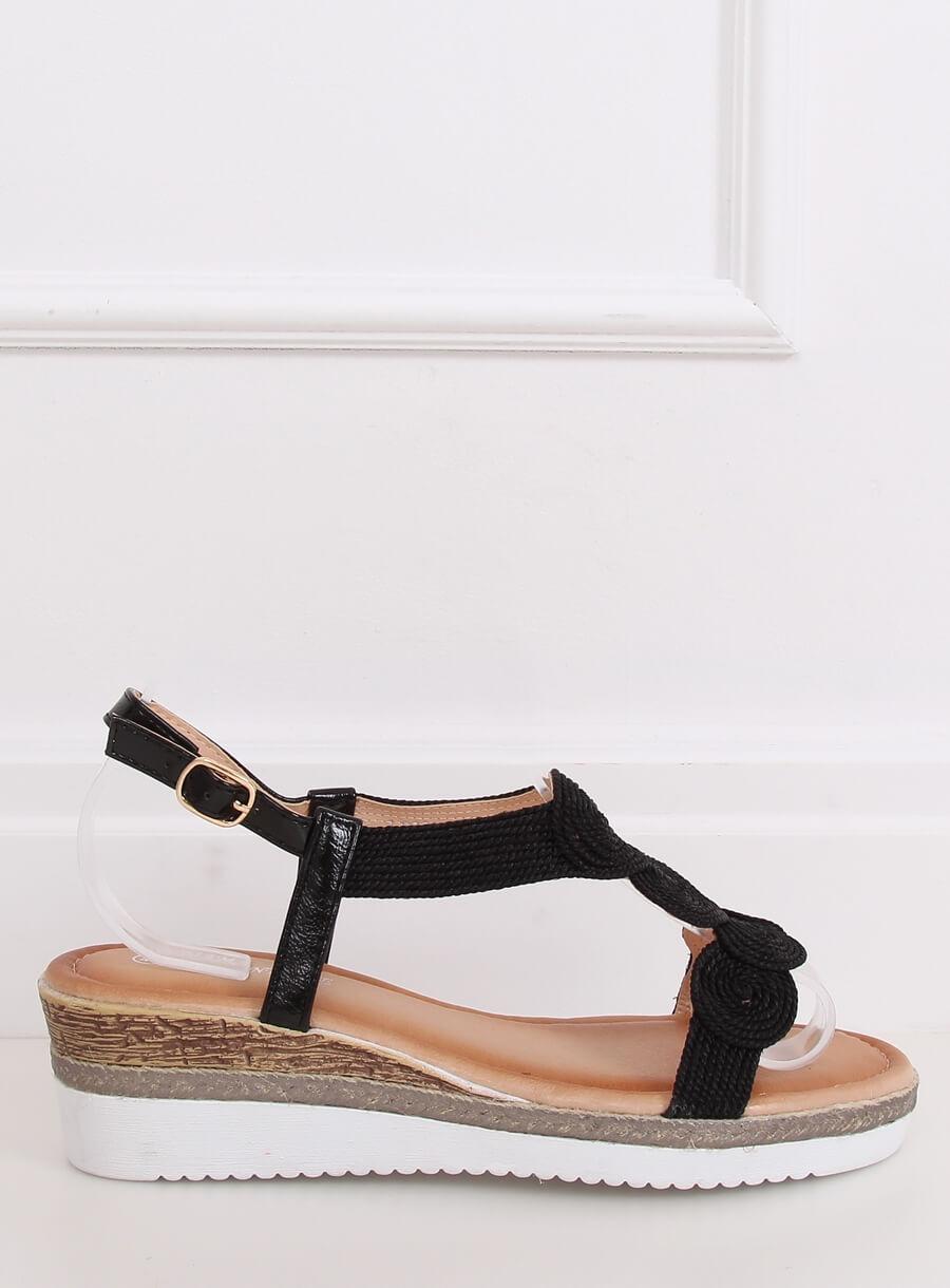 Damské sandále čierne