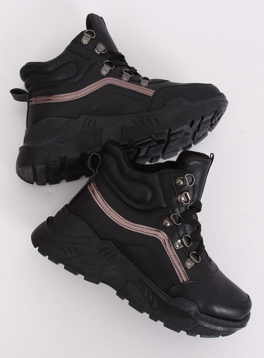 Športové topánky na platforme B0012-SP BLACK 37