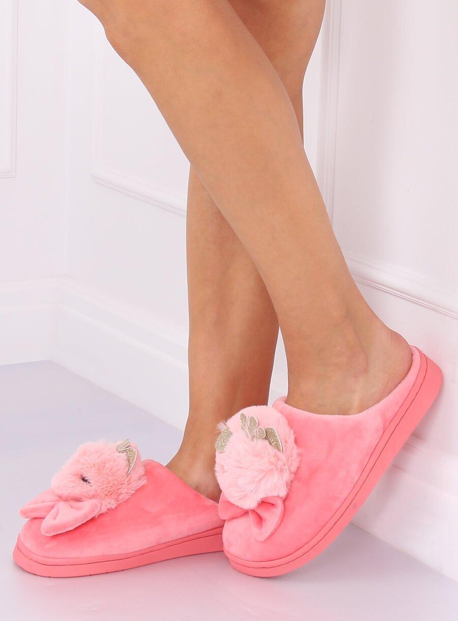 Papuče kohút svetlo ružobé