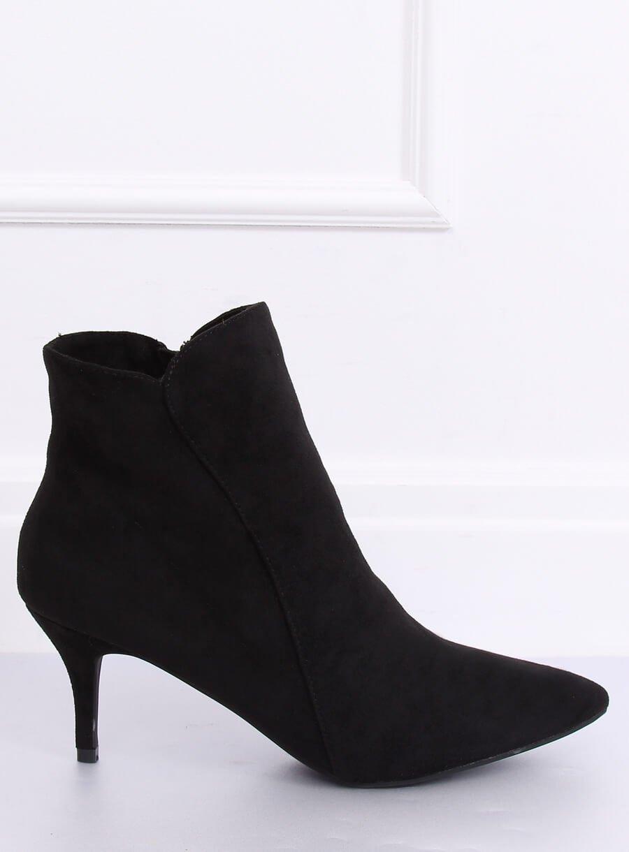 Elegantné čižmičky čierne
