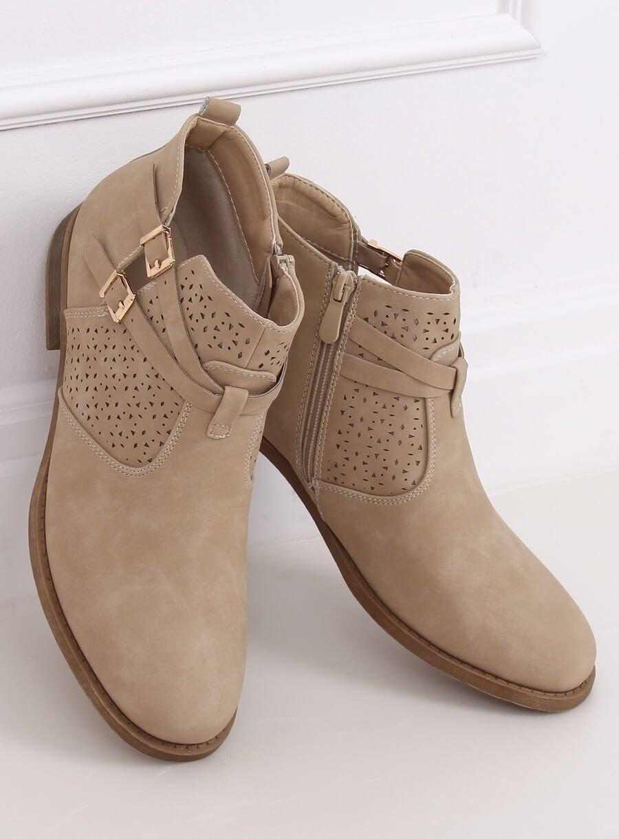 Damske bežove topánky